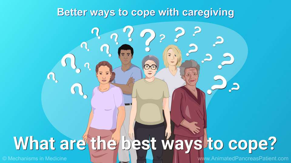 Better ways to cope with caregiving