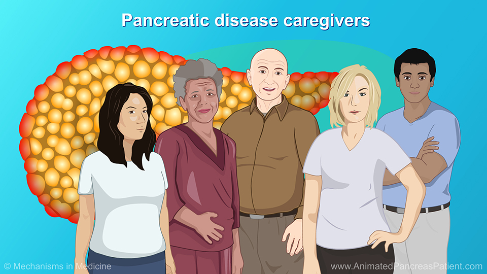 Pancreatic disease caregivers