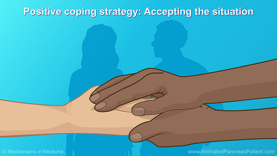 Positive coping strategy: Accepting the situation