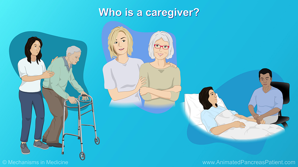 Who is a caregiver?