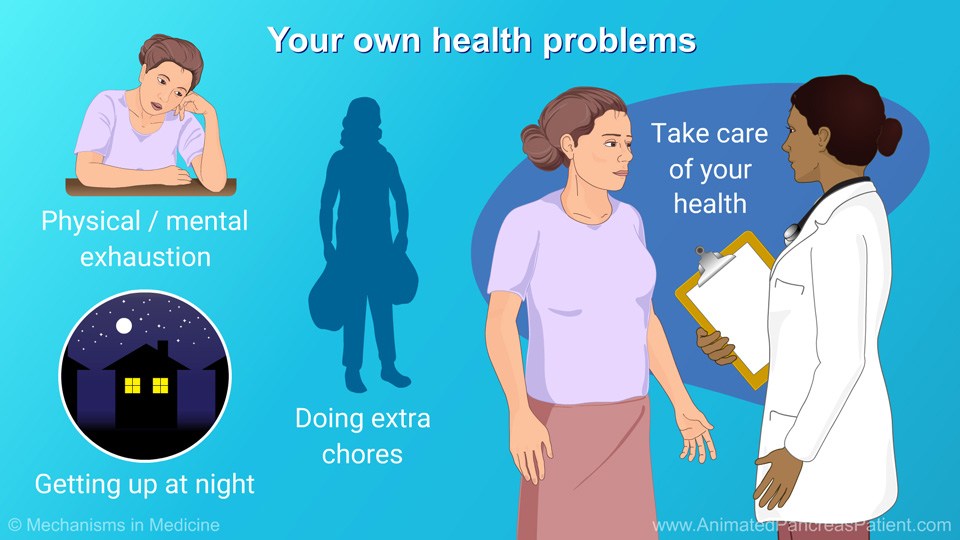 Your own health problems