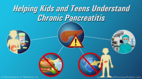 Animation - Helping Kids and Teens Understand Chronic Pancreatitis